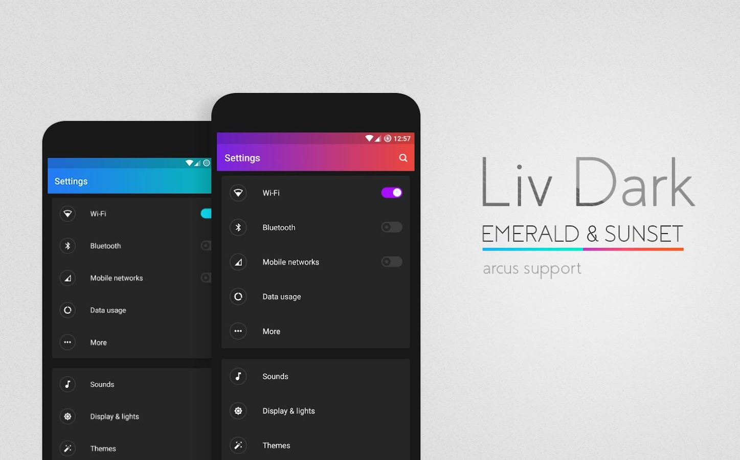 Liv Dark - CM13/12.1 Theme Screenshot 8