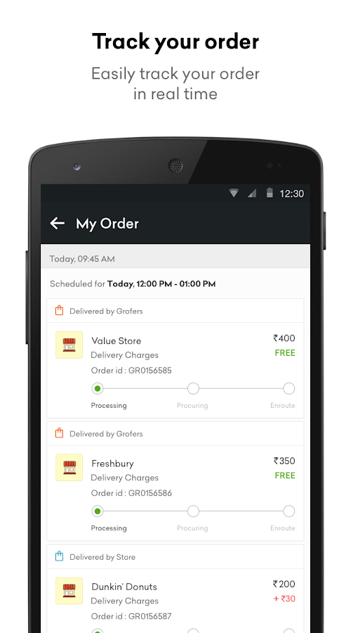Grofers - Online Grocery Screenshot 5