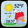 Peanuts Weather Widget Theme APK for Bluestacks