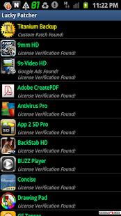 Lucky patcher Screenshots