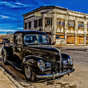 Times Gone By by Jim Moon - Transportation Automobiles ( antique truck, az, hdr, whisper river photography, arizona, miami, jim moon, ford, usa,  )