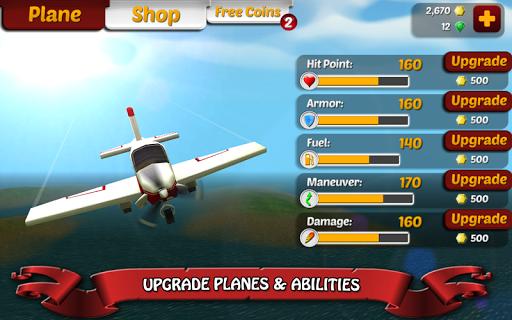 Wings on Fire - Endless Flight screenshot 12