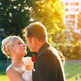 by Michelle Exler - Wedding Bride & Groom
