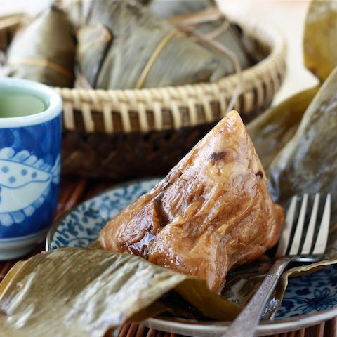 Summer Season with Spice - Traditional Zongzi Rice Dumplings (Bak Chang 肉粽)