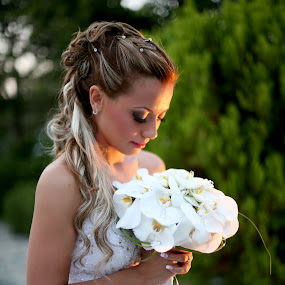 by Ilias Zaxaroplastis - Wedding Bride