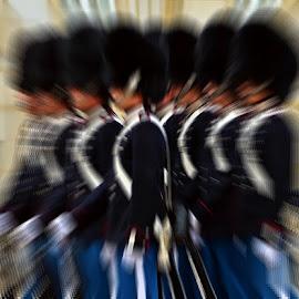 En Garde by Francis Xavier Camilleri - Digital Art People ( copenhagen, soldiers, uniform, zoom, denmark, group )
