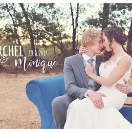 by Drika Venter - Wedding Bride & Groom