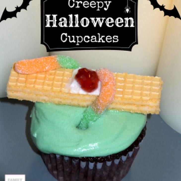 Creepy Halloween Cupcakes Recipe | Yummly