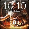 Free Skeleton Skull Screen Lock APK for Windows 8