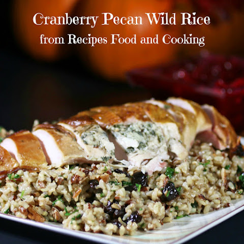 Wild Rice With Cranberries And Pecans | Pecan Pie, Fried Rice and Rice ...