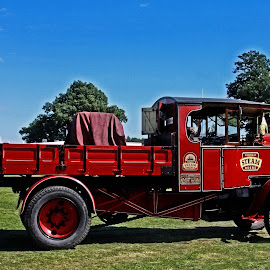 Steam lorry by Michael Moore - Transportation Other