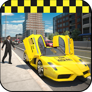 Cover art City Taxi Simulator 2015