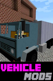 Vehicle MODS For MCPocketE - screenshot
