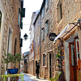 Little Shop by Vedrana Vidovic - City,  Street & Park  Markets & Shops ( nikon, shop, street, stone, lifestyle )