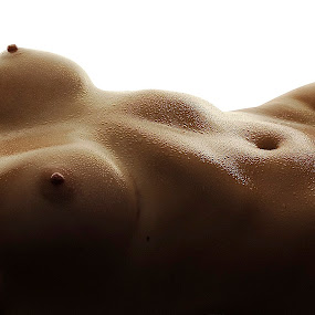 Shadows by Vineet Johri - Nudes & Boudoir Artistic Nude ( body, vkumar, muscles, shadows, curves, laura parker, oil )
