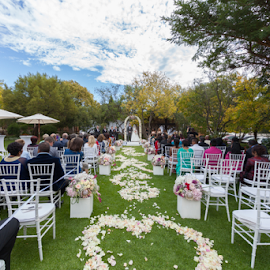 Perfect Skies by Lodewyk W Goosen-Photography - Wedding Ceremony ( wedding photography, wedding photographers, weddings, wedding, bride and groom, marriage, ceremony )