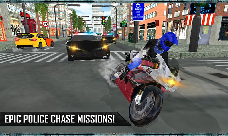 Grand Car Chase Auto Theft 3D Screenshot 2