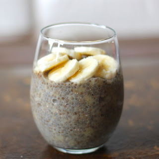 Banana Chia Seed Pudding