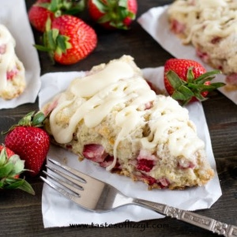 Strawberry Lime Scones Recipe | Yummly