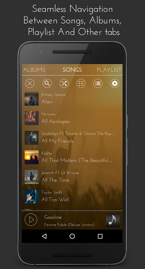 Impulse Music Player Pro Screenshot 4