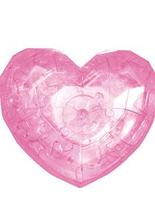 3D Crystal Puzzle Сердце L New
