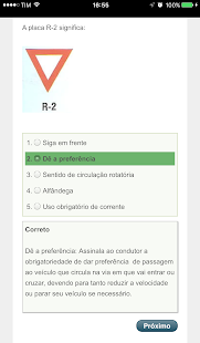 Placas de Transito CNH - screenshot