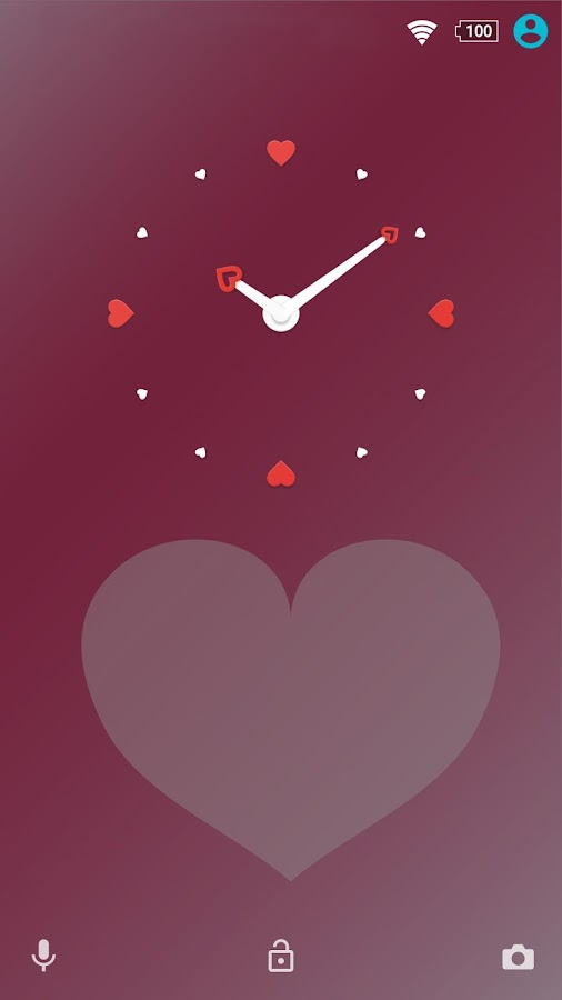 XPERIA™ Pink Hearts Theme Screenshot 5
