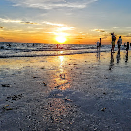 Another day at the Beach ~ Florida Sunsets make people do the strangest things  by Jeffrey Lee - People Street & Candids ( another day at the beach ~ florida sunsets make people do the strangest things )