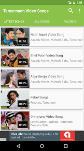 Tamannaah Hit video songs - screenshot