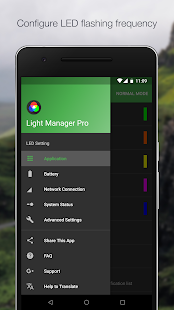 Light Manager Pro - LED Settings Screenshot