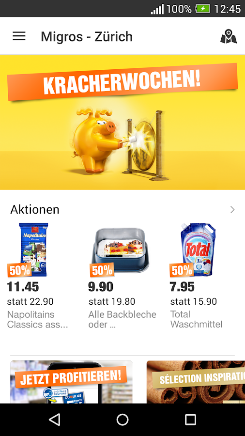Migros Screenshot