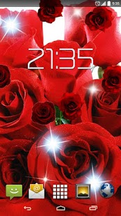 Red Roses Flowers HD - screenshot