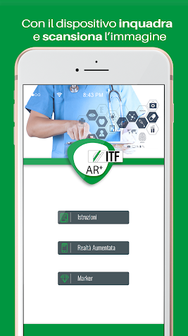 ITF AR Screenshot