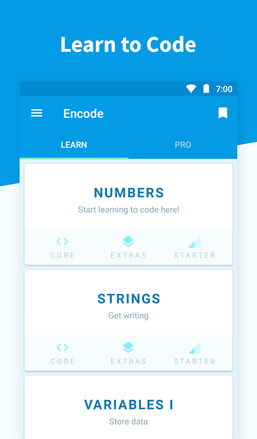 Encode: Learn to Code Screenshot 0