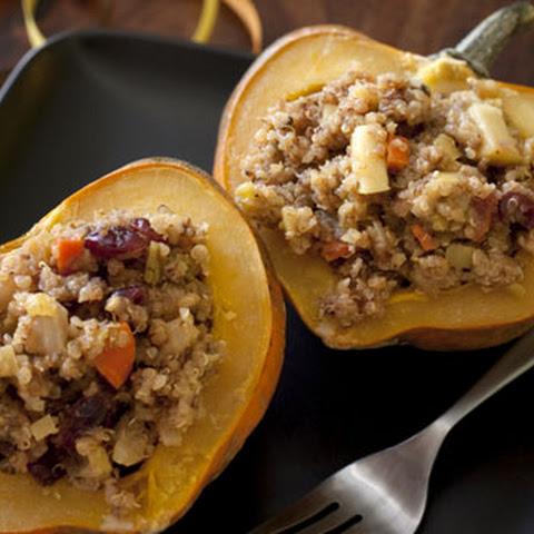 Quinoa-Stuffed Acorn Squash Rings Recipes — Dishmaps