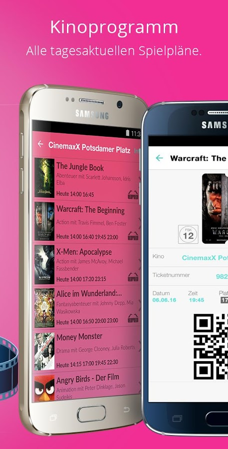 CineApp - MovieTimes + Tickets Screenshot 3