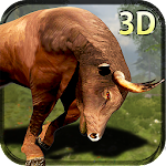 Bull Simulator - Crazy 3D Game Icon