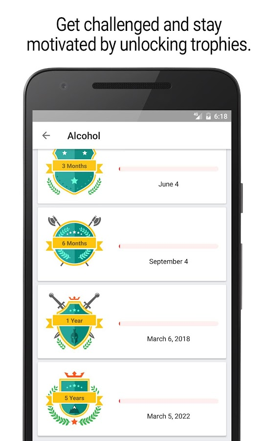 Sobriety Counter – Bad Habits Screenshot 5