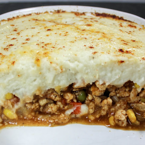 Mashed Cauliflower Sheppard's Pie