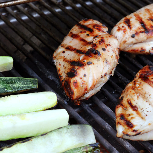 Beer-Brined Grilled Chicken Breasts Recipe | Yummly