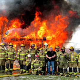 F is for Firefighters by Corinna Burton - People Group/Corporate