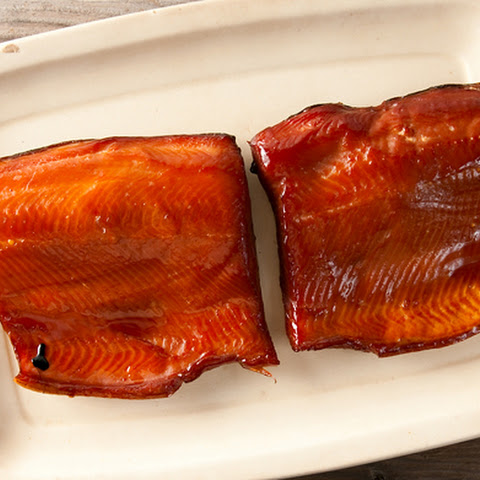 Smoked Salmon, Glazed with Birch or Maple Syrup
