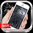 Broken Screen Prank & Cracked Screen Phone Fire 3D