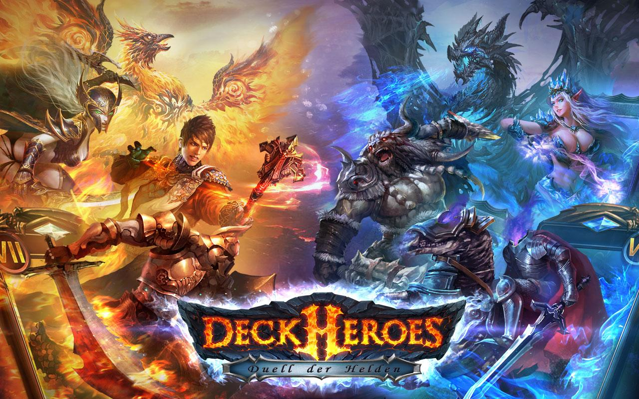 Deck Heroes: Duell der Helden Screenshot 0