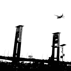 Bridge And Plane by Adi Ryan - Instagram & Mobile Other