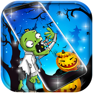Cute Zombie Free Live Wallpaper for PC-Windows 7,8,10 and Mac