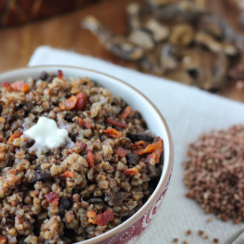 Buckwheat Kasha With Mushrooms