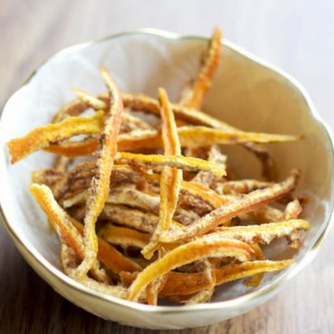 Candied Orange Peel (sugar free)