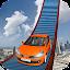 Car Stunts on Impossible Track