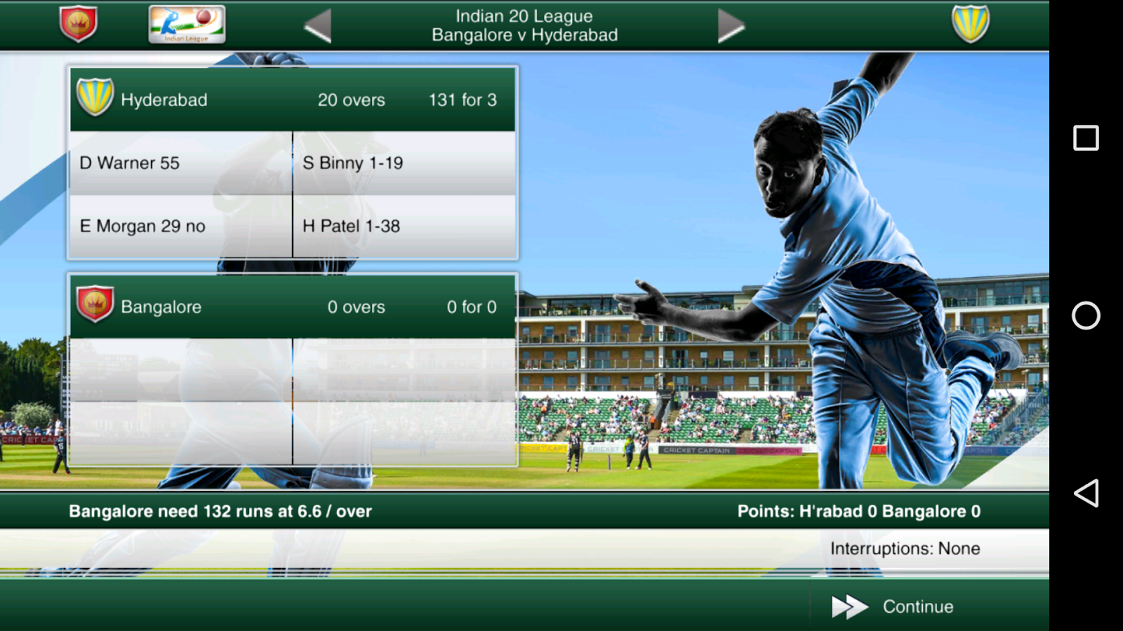 Cricket Captain 2016 Screenshot 0